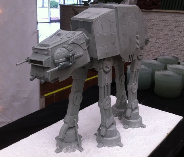 Star Wars AT-AT Cake